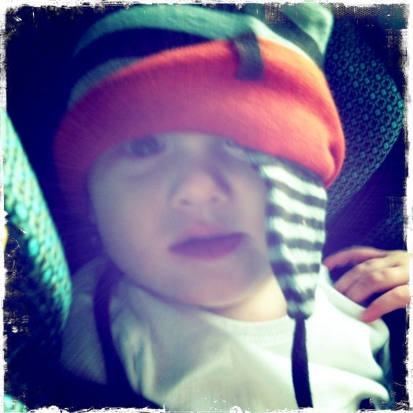 Fletcher of the day: hat.