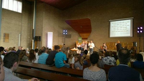 Jeugdkerk Cross-Road #Hoogeveen Laatste dienst van dit seizoen. :( Vanavond in de Goede Herderkerk