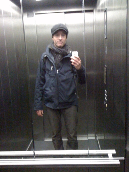 Me in my NAU triple layers.