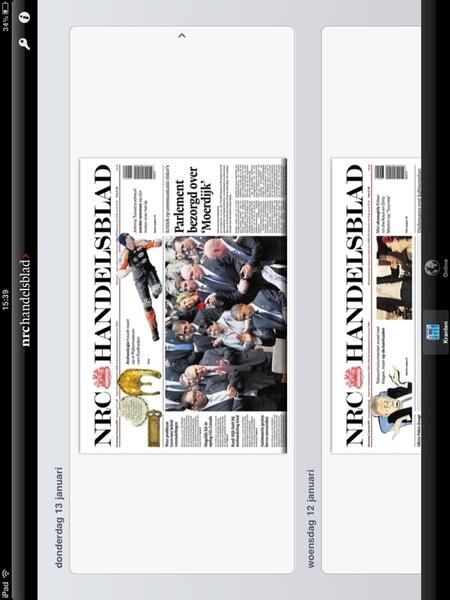 Wacht op de krant... #NRC