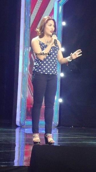 @kc_concepcion Kaceeeeeeeeee! eto sya ang pinaka BET ko sa X-Factor Phils ... Sooooooo PROUD of her! hehehe!