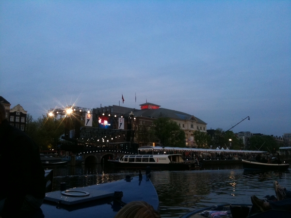 Great spot for the concert #5mei