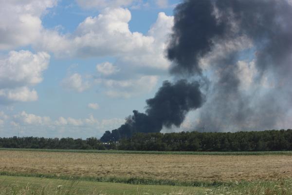 Grote brand Sortiva Middenmeer2