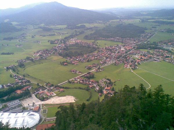 #inzell с высоты птичьего полета. Вторая тренировка была такого содержания.