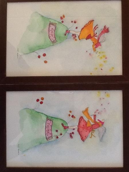 Prachtig tweeluik gekregen van @DeNieuweZaak. Gemaakt door Marieke de Kleine http://www.mariekedekleine.nl Ontroerend mooi, dankjewel! #DNZ