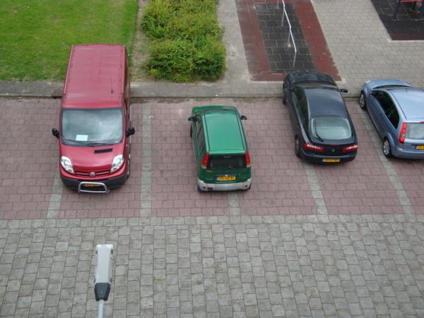 Moeilijk he, parkeren...