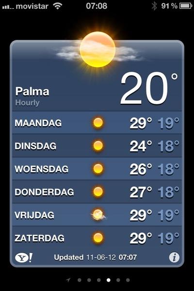 Weer een zware week voor de boeg! #vakantie