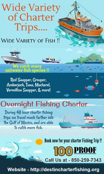 Overnight fishing charters in destin fl by destin charter for Destin florida fishing trips