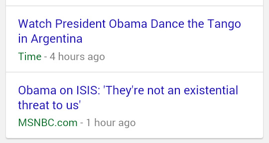 @BarackObama said #ISIS not a threat to #US. Really Nigga? U didn't see #Brussels? over there in #Argentina dancing.