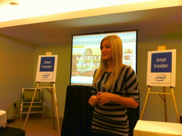 @iJustine Shares YouTube Tip At #IntelInsiders Summit III