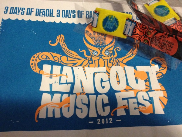 Guess what came today? @Hangoutfest wristbands!! @jillie7