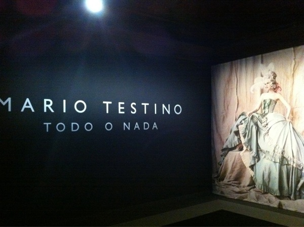 Todo o nada by Mario testino was great what à great photographer is he #todoenada #Mariotestino #rome