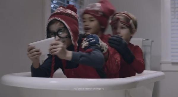 Geniaal die mannetjes in de badkuip