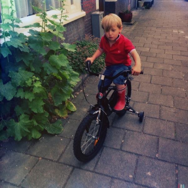 Fletcher of the Day: New bike