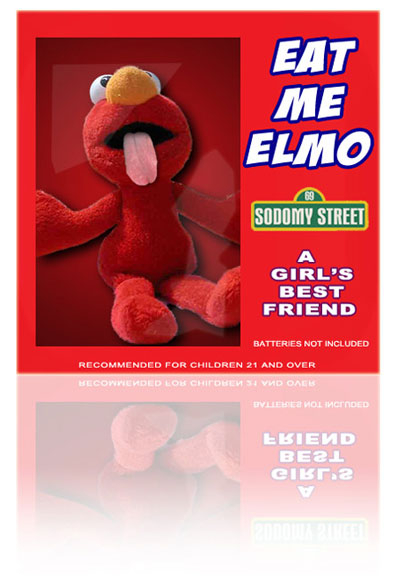 Presenting the all new Elmo toy from @theoriginaldoc - a girl's best friend (from @vickyvette) RT