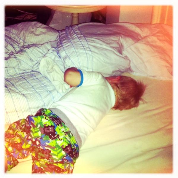 Fletcher of the day: sleepy baby