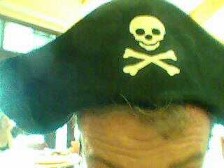 Arrr! It be International Talk Like A Pirate Day! Avast behind! #pirate