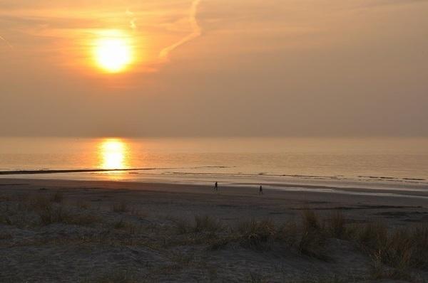#zonsondergang#zomer#zee#strand#nieuwpoortbad #buienradar