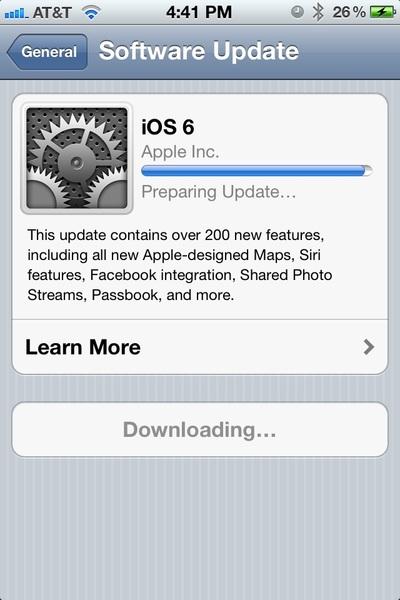 Bye bye iOS 5...