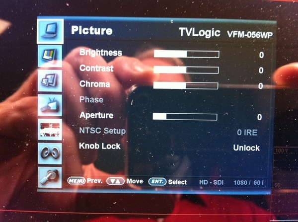 @PhilipBloom  you need this monitor. Pic of it's software setup screen. I like this over SmallHD.