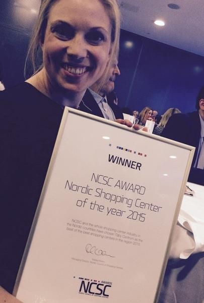 #UnibailRodamco (client) win  #NCSC #AWARDS #Nordics  @ICSCEurope w @TabyCentrum #Stockholm @CF_Innesco @DanInnes