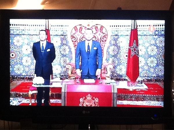 Marokko: koning laat een deel van zijn macht gaan. Referendum op 1 juli.
