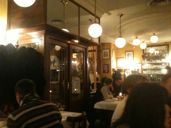 Le Bistrot des Clercs par Michel CHABRAN in Valence, France. 3 course Michelin meal for 22€.