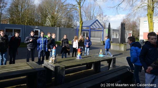 Vandaag was de #raketwedstrijd van #b1s @Rodenborch #rosmalen #vwo #talenttraject