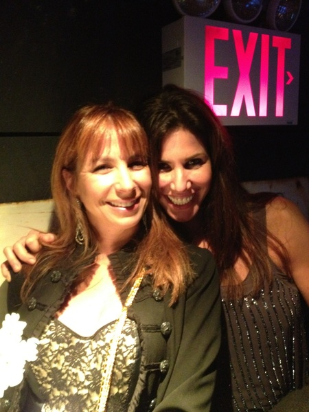 So great to hang with  @CindyBarshop at  @JeneLuciani party!