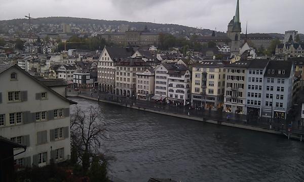 Uitzichtje! #zürich