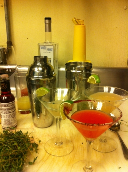 Back n Chgo: testing new cocktails 4 Frontera: Yes! Blood orange margarita soon 2 return! Also 1 called Sunshine