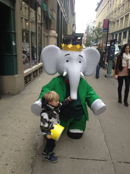 Fletcher of the day: Babar, King of the Elephants