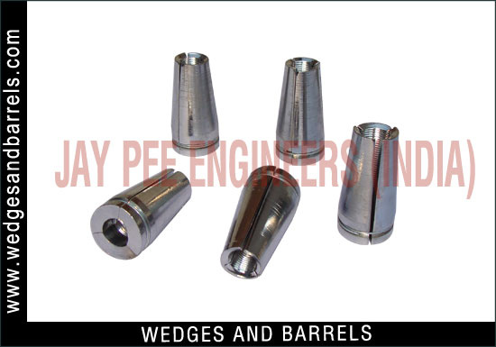 Post Tension Wedge Plate : Post tensioning wedges and barrels pre stressed anchor