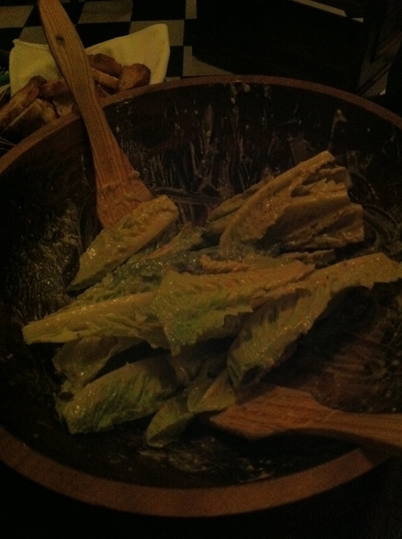 Anothr break n Taco Crawl:Javier Plascencia's rebirth of Caesar's, home of orig Caesar salad.Never tastd 1 so gud!
