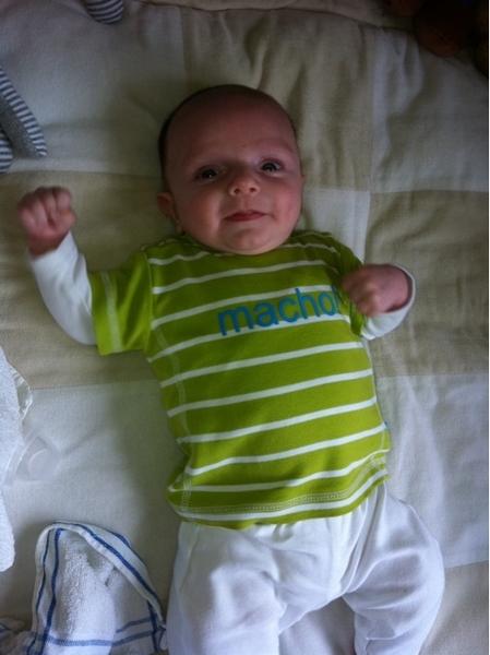 Mr. Macho al 8 weken oud!