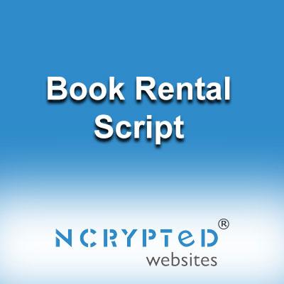 Book Rental Script