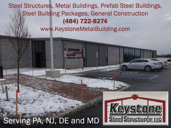 Steel Structures in PA, NJ, DE and MD