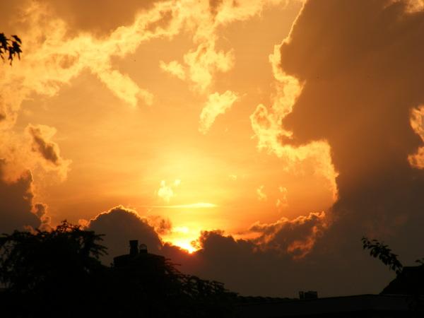 Goud aan de horizon.. #buienradar