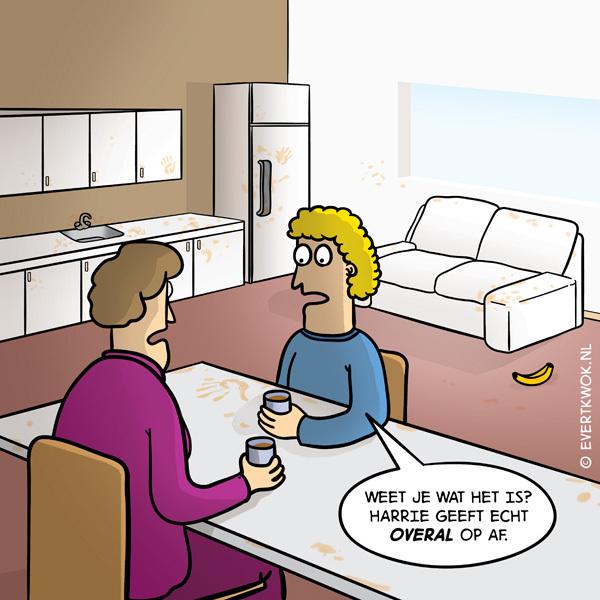 Weet je wat het is? #cartoon