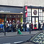 recession ireland? Queue outside Enable Ireland charity shop for bargains. Easy 20+ people.