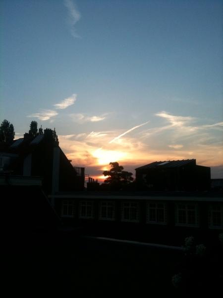 Sky over Amsterdam