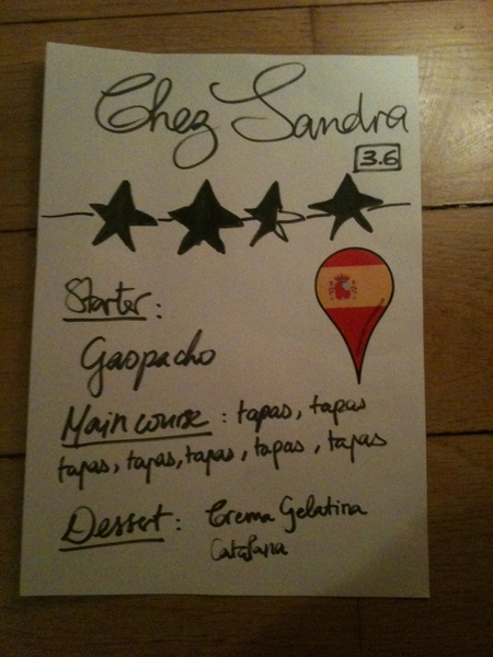 Yay! Chez Sandra was a big succes #tapas