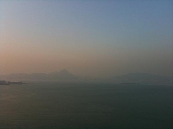Pollution vs Blue sky