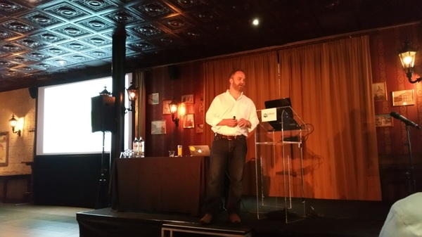 #vmugbe @JoeBaguley being awesome on stage!