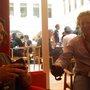 Dynamisch duo klep en bep (@markies en @frankmeeuwsen) bij #tnw
