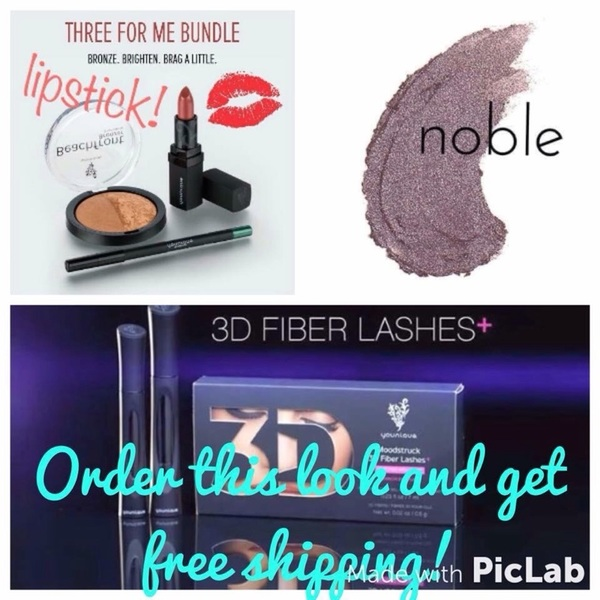 Back to school bundle!! Free shipping if you order the Kudos, noble shadow &  #Mascara! beautybykimmykat.com