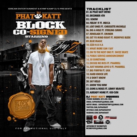 RT @richboygfx #NowPlaying ♬ 'Gunz & Rosez ft. Lenny Krav' - DJ Phat Katt - Block Co-Signed Starring Jay-Z ♪  @DjPhatKatt
