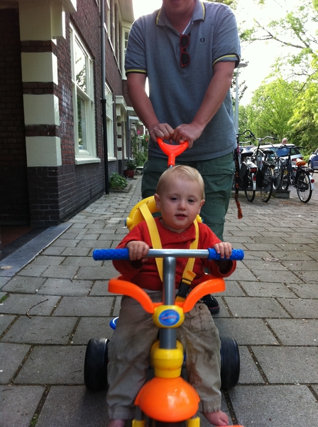 Fletcher of the day: out for a ride