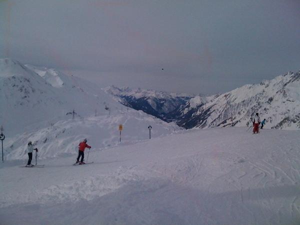 is skiing in St Anton, Austria