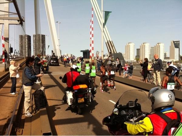 Kopgroep marathon Rotterdam 2011